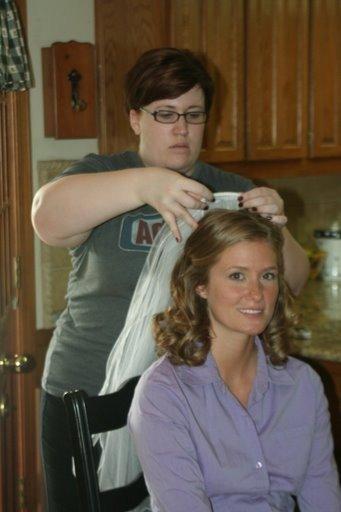 hair,? make up? Check!