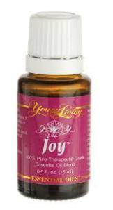 Joy has not been used very often. I have diffused it a couple of times, but it is just so strong it's still hard for me to take! I want to dilute it in one of these bottles and cross it over my heart as a perfume of sorts. I will let you know how it goes! Anyone have another use for Joy they want to share??
